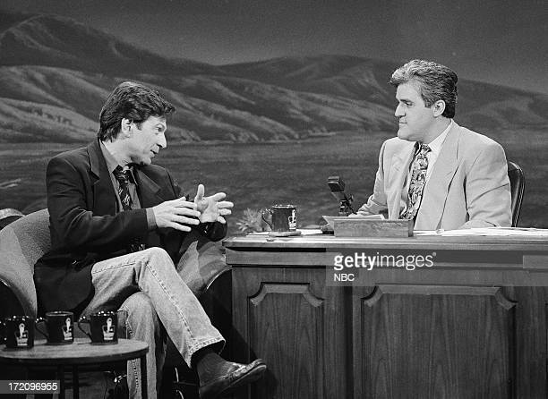 Actor Michael Brandon during an interview with host Jay Leno on July 3 1992