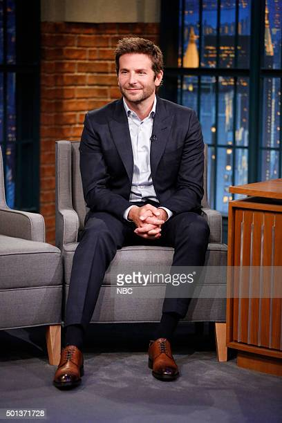 Actor Bradley Cooper during an interview on December 14 2015