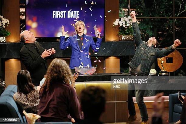 NIGHT '301' Episode 301 Pictured Kevin O'Leary Jane Lynch Nate Berkus