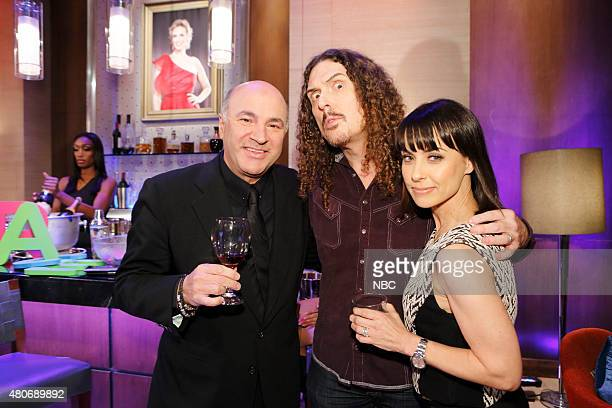 NIGHT '301' Episode 301 Pictured Kevin O'Leary 'Weird Al' Yankovic Constance Zimmer