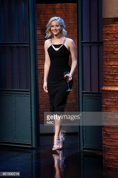 Actress Jennifer Lawrence arrives on December 15 2015