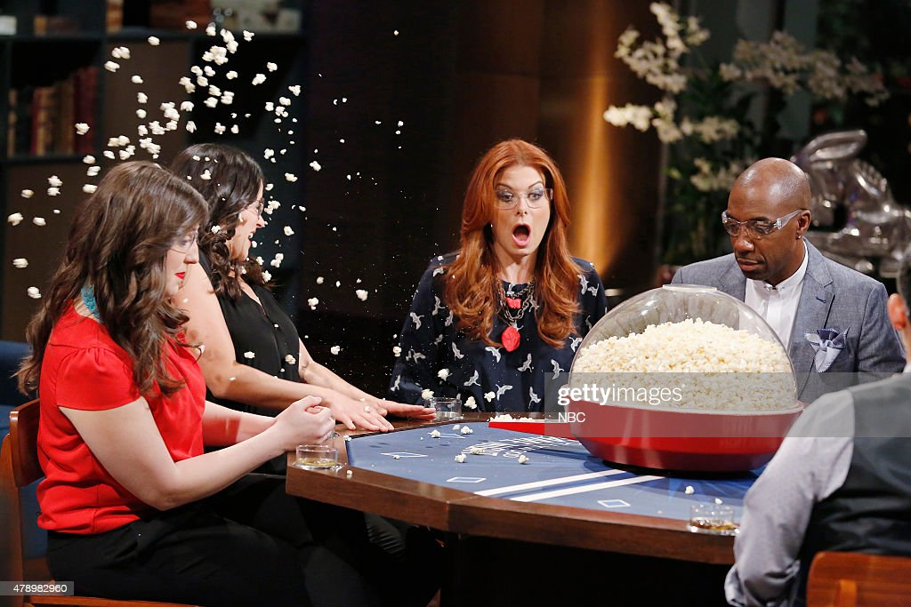 NIGHT '302' Episode 302 Pictured Melissa Fumero Debra Messing JB Smoove