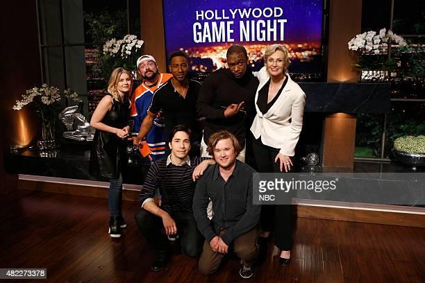 NIGHT '306' Episode 306 Pictured Elisha Cuthbert Kevin Smith Brandon T Jackson Justin Long Haley Joel Osment Jay Pharoah Jane Lynch