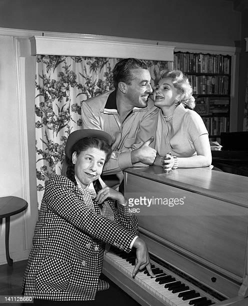 Host Judy Canova Cesar Romero Zsa Zsa Gabor in 1952 Photo by NBC/NBCU Photo Bank