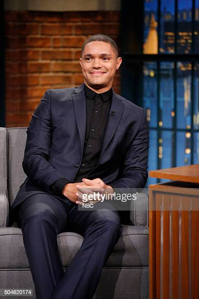 Daily Show host Trevor Noah during an interview on January 11 2016