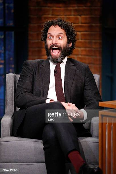 Actor Jason Mantzoukas during an interview on January 12 2016