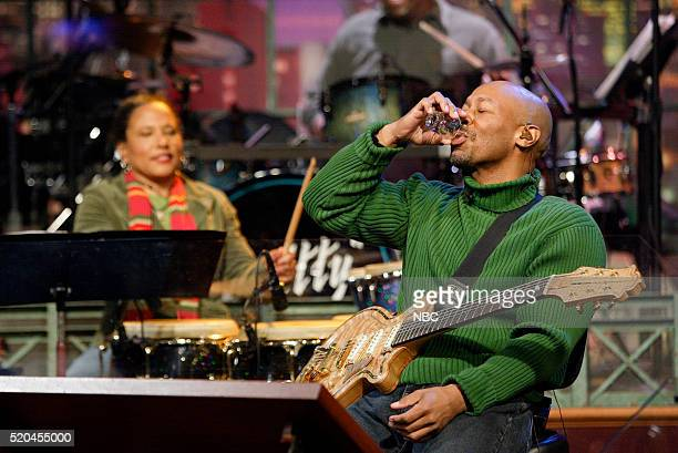 Bandleader Kevin Eubanks during a segment on March 17 2006