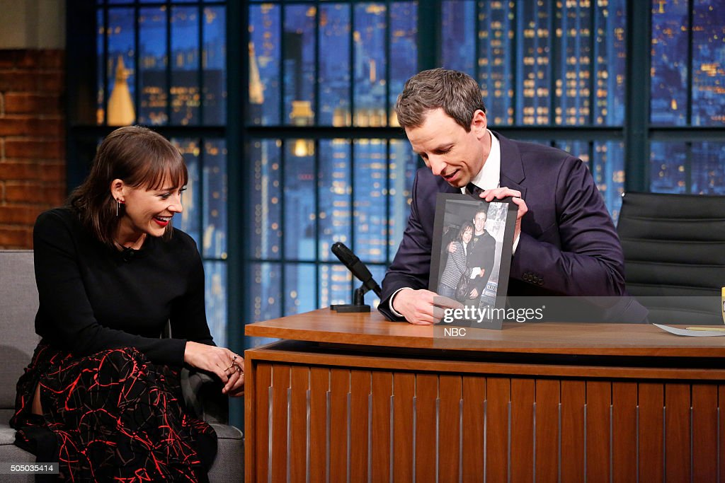 nbcs quotlate night with seth meyersquot with guests rashida