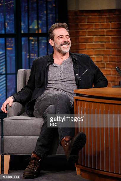 Actor Jeffrey Dean Morgan during an interview on January 26 2016