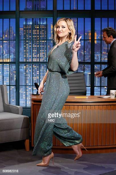 Actress Kate Hudson arrives on January 26 2016
