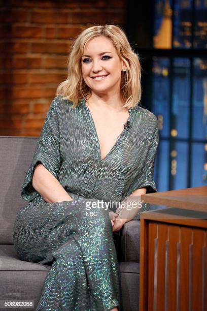 Actress Kate Hudson during an interview on January 26 2016