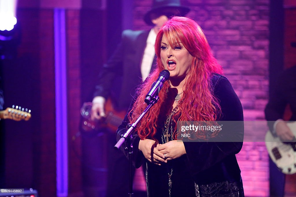 Wynonna Judd of musical guest Wynona the Big Noise performs on February 10 2016