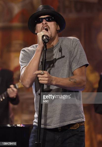 Musical guest Kid Rock performs on November 21 2006
