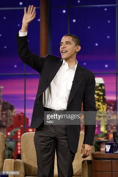 Senator Barack Obama arrives on December 1 2006