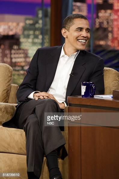 Senator Barack Obama during an interview on December 1 2006