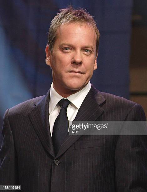 Actor Kiefer Sutherland during an interview on January 8 2007