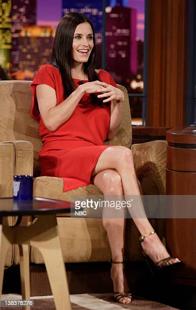 Actress Courteney Cox during an interview on February 26 2007
