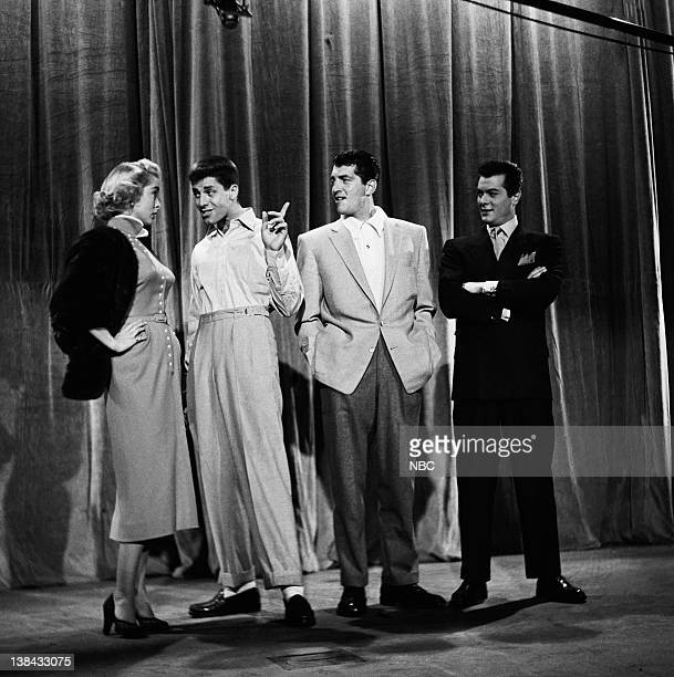 HOUR Episode 336 Aired 5/31/53 Pictured Janet Leigh Jerry Lewis Dean Martin and Tony Curtis