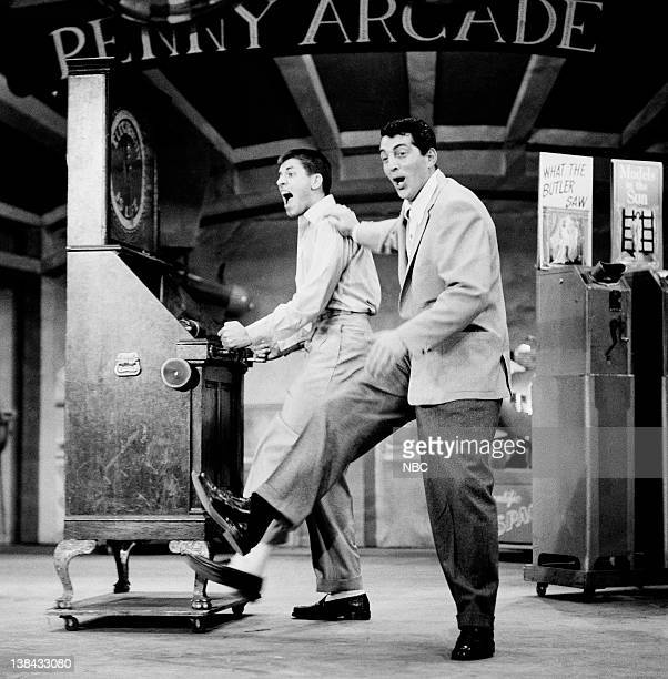HOUR Episode 336 Aired 5/31/53 Pictured Jerry Lewis Dean Martin