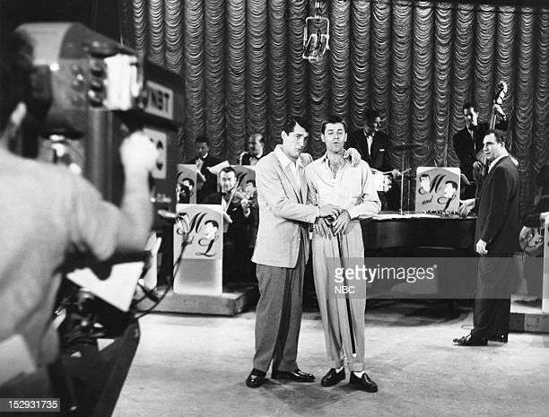 Hosts Dean Martin Jerry Lewis