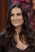 Episode 3374 pictured actress demi moore during an interview on may picture id140879087?s=170x170