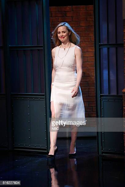 Actress Melissa George arrives on March 17 2016