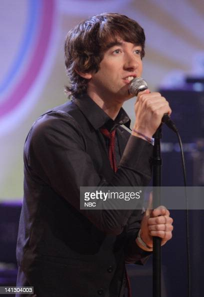 Musical guest Plain White T's perform on October 10 2007 Photo by Margaret Norton/NBCU Photo Bank