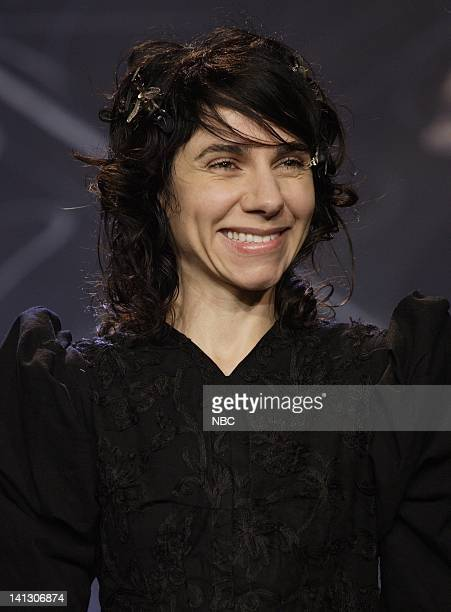 Musical guest PJ Harvey on October 16 2007 Photo by Dave Bjerke/NBCU Photo Bank