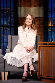 Actress Olivia Wilde during an interview on March 24 2016