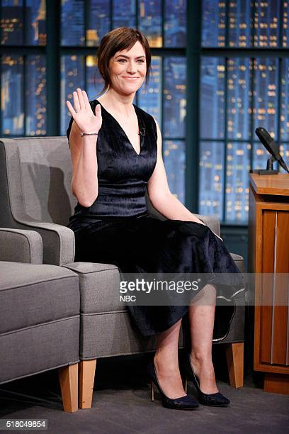 Actress Maggie Siff during an interview on March 29 2016