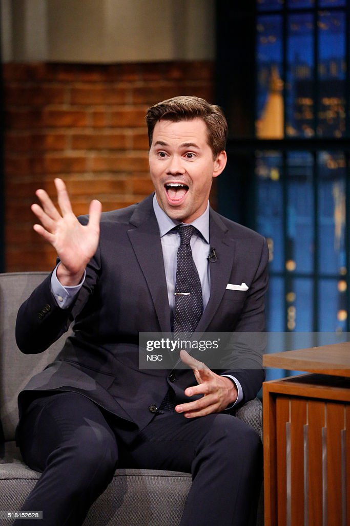 Actor Andrew Rannells during an interview on March 31, 2016 --