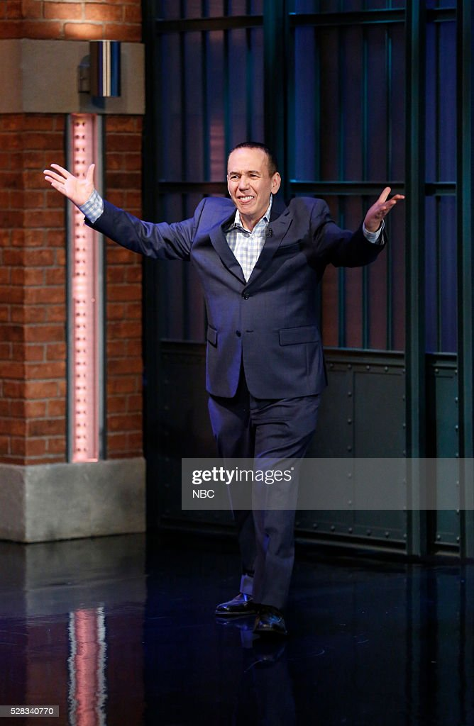 Comedian Gilbert Gottfried arrives on May 4, 2016 --