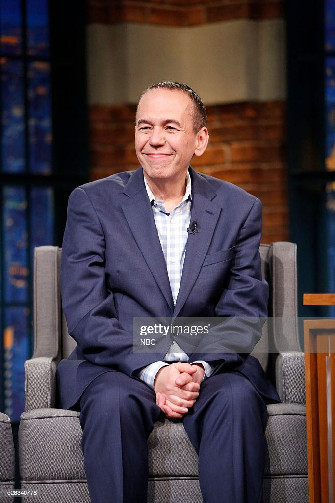 Comedian <a gi-track='captionPersonalityLinkClicked' href=/galleries/search?phrase=Gilbert+Gottfried&family=editorial&specificpeople=214732 ng-click='$event.stopPropagation()'>Gilbert Gottfried</a> during an interview on May 4, 2016 --