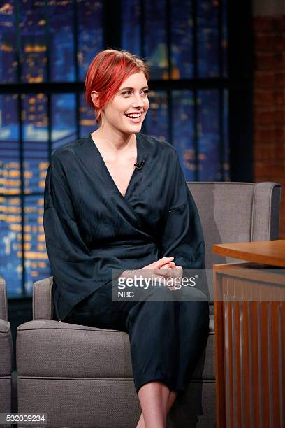 Actress Greta Gerwig during an interview on May 17 2016