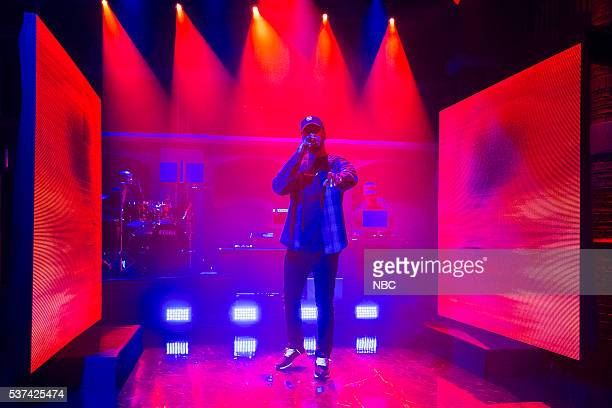 Musical guest Bryson Tiller performs on May 23 2016