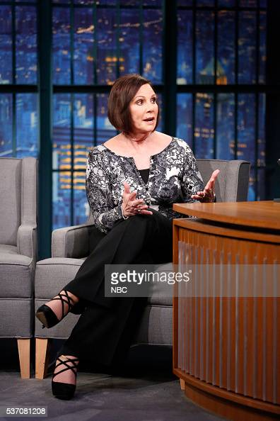 Former OJ Simpson case prosecutor Marcia Clark during an interview on May 25 2016