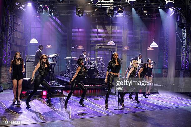 LENO Episode 3761 Air Date Pictured Musical guest Ciara performs on May 11 2009