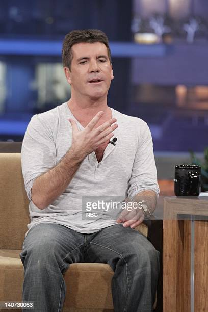 American Idol judge Simon Cowell during an interview on March 8 2010 Photo by Paul Drinkwater/NBCU Photo Bank