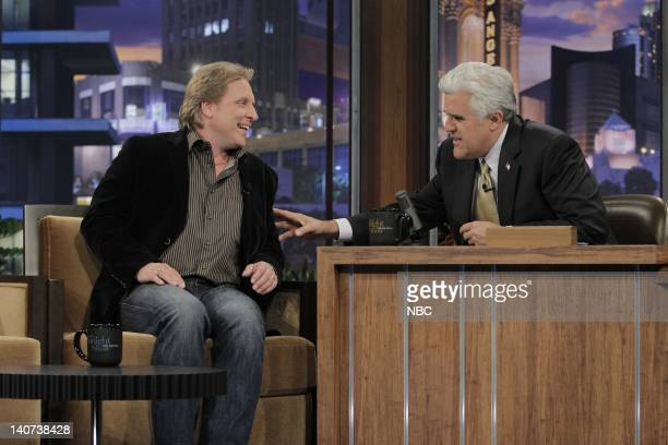 Crab fisherman Sig Hansen during an interview with host Jay Leno on April 29 2010 Photo by Paul Drinkwater/NBCU Photo Bank