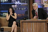Actress Julia LouisDreyfus during an interview with host Jay Leno on May 3 2010 Photo by Margaret Norton/NBCU Photo Bank