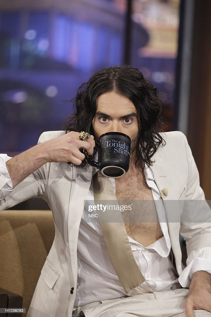 Actor/comedian Russell Brand during an interview on May 24 2010 Photo by Paul Drinkwater/NBCU Photo Bank