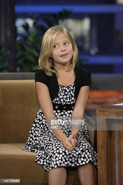 America's Got Talent runner up Jackie Evancho during an interview on September 23 2010 Photo by Paul Drinkwater/NBC/NBCU Photo Bank