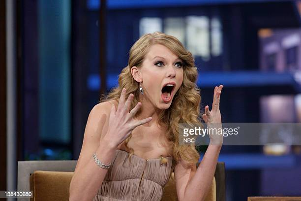 Singer Taylor Swift during an interview on November 22 2010