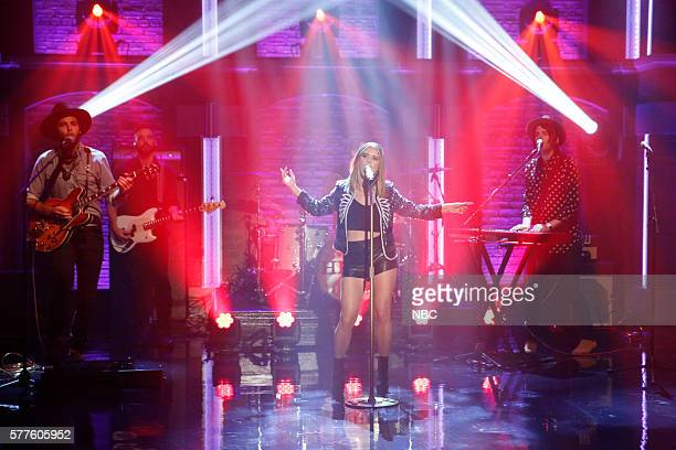 Musical guest Maren Morris performs on July 18 2016