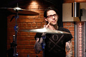 Guest drummer Atom Willard of 'Against Me' performs with The 8G Band on July 20 2016