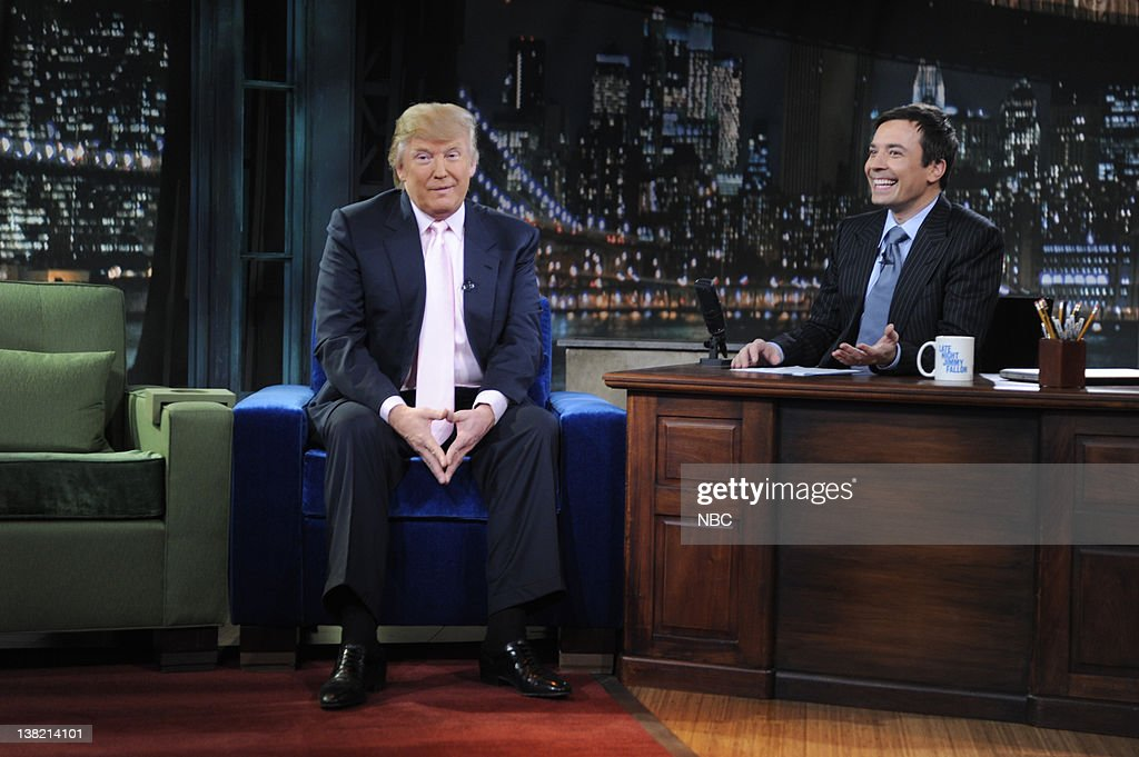 Image result for trump on jimmy fallon  getty images