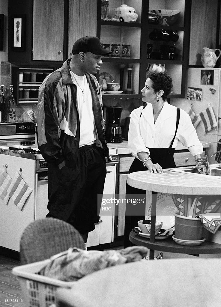 HOUSE -- Episode 4 -- 'Once Again, With Feeling' -- Pictured: (l-r) L.L. Cool J as Marion Hill, <a gi-track='captionPersonalityLinkClicked' href=/galleries/search?phrase=Debbie+Allen&family=editorial&specificpeople=210660 ng-click='$event.stopPropagation()'>Debbie Allen</a> as Jackie Warren --