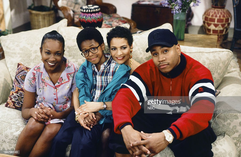 HOUSE -- Episode 4 -- 'Once Again, With Feeling' -- Pictured: (l-r) <a gi-track='captionPersonalityLinkClicked' href=/galleries/search?phrase=Maia+Campbell&family=editorial&specificpeople=628953 ng-click='$event.stopPropagation()'>Maia Campbell</a> as Tiffany Warren, Jeffery Wood as Austin Warren, <a gi-track='captionPersonalityLinkClicked' href=/galleries/search?phrase=Debbie+Allen&family=editorial&specificpeople=210660 ng-click='$event.stopPropagation()'>Debbie Allen</a> as Jackie Warren, L.L. Cool J as Marion Hill --
