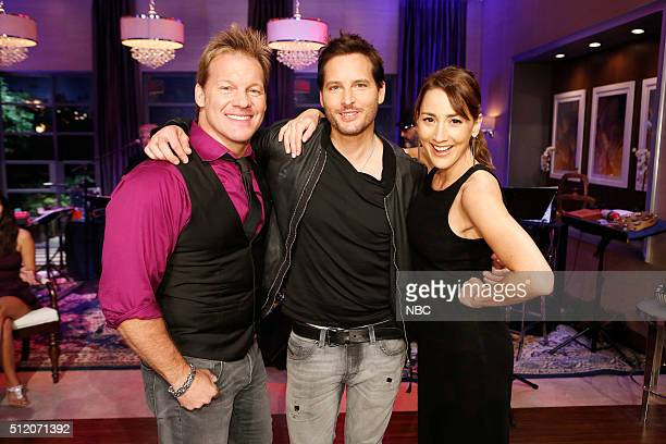 Chris Jericho Peter Facinelli Bree Turner