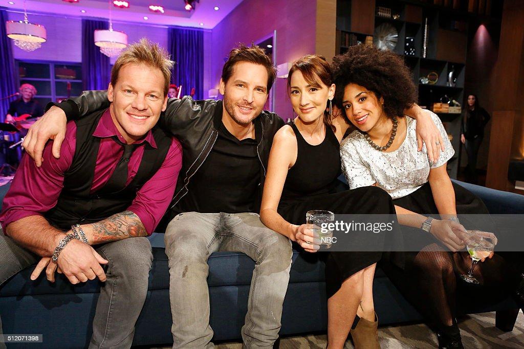 Chris Jericho, Peter Facinelli, Bree Turner, Contestant --